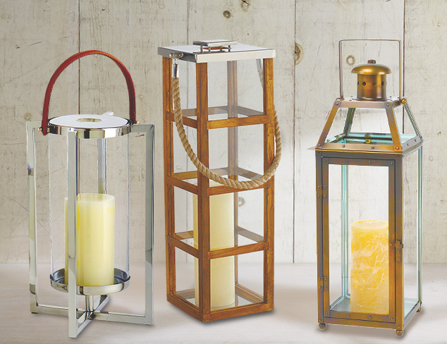 Outdoor Lanterns by Sidney Marcus at MYHABIT