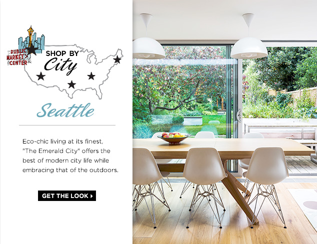 Pacific Northwest Living: The Look of Seattle, WA at MYHABIT