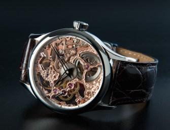 Tavannes Watch Company TA-VON Skeleton with See-through Back