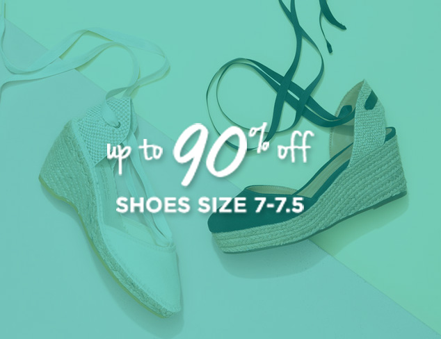 Up to 90% Off: Shoes Sizes 7-7.5 at MYHABIT
