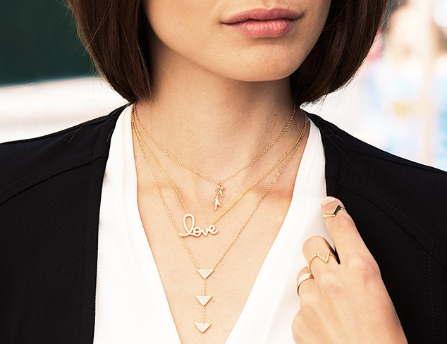 A Delicate Statement: Jewelry for Layering at MYHABIT
