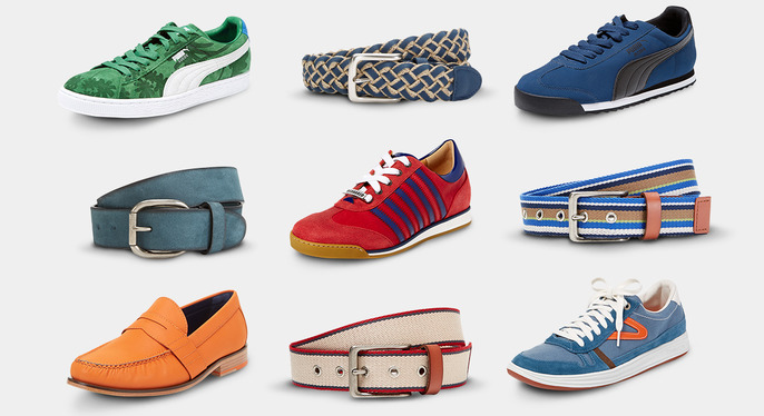 Bold Shoes & Belts at Gilt