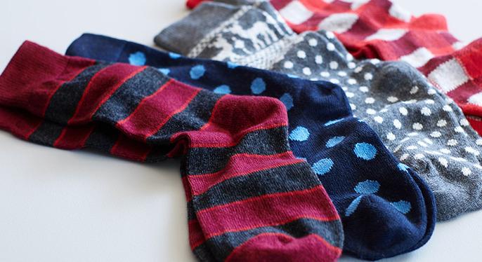 Clapham Cashmere Socks at Gilt