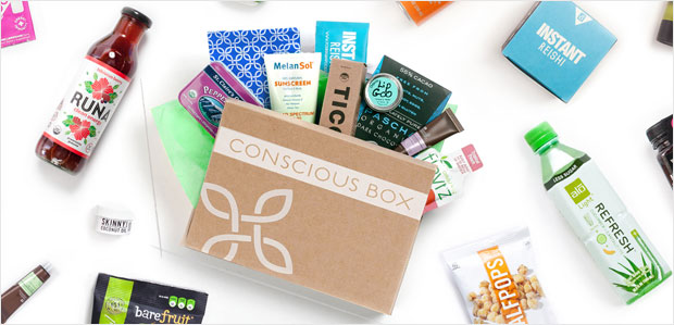 Conscious Box. Healthier living, delivered. at Rue La La