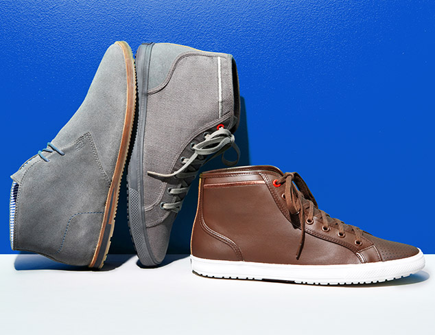 Fall Boots & Shoes: Ben Sherman & More at MYHABIT