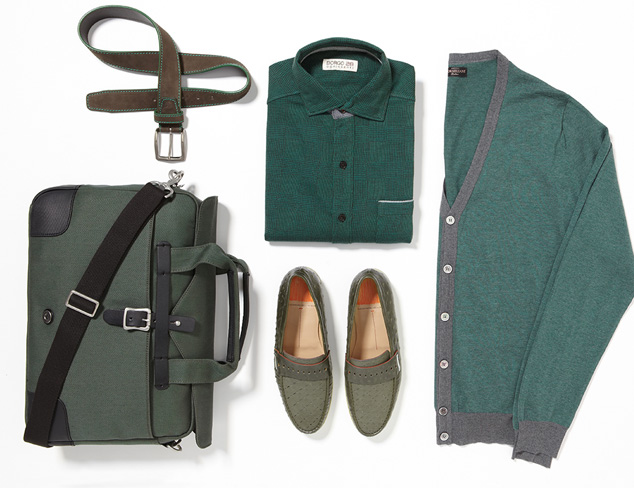 Fall Hues: Dark Green at MYHABIT