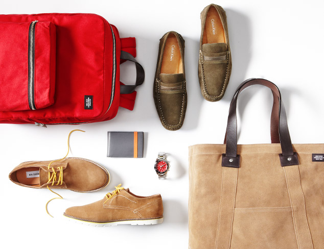 Fall Shoes & Accessories for Casual Friday at MYHABIT