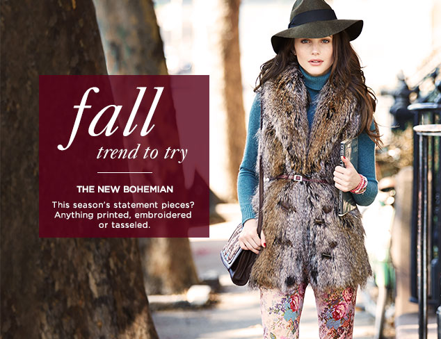 Fall Trend to Try: The New Bohemian at MYHABIT