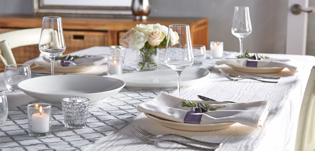 First Dinner Party as Newlyweds: Tabletop Basics at Rue La La