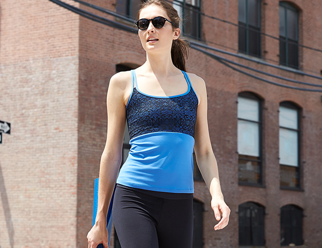 For the Mat: Yoga Wear feat. Be Up at MYHABIT