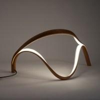 John Procario Original Wood Table Lamps