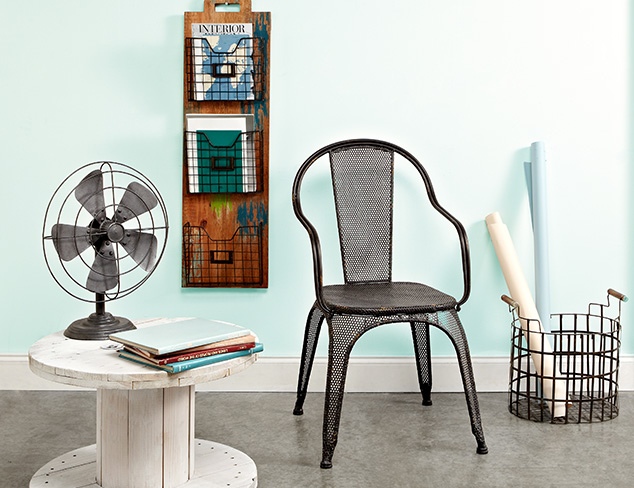Industrial Charm: Furniture, Art & Accents at MYHABIT