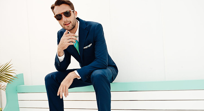 Italian Suiting Feat. Canali at Gilt