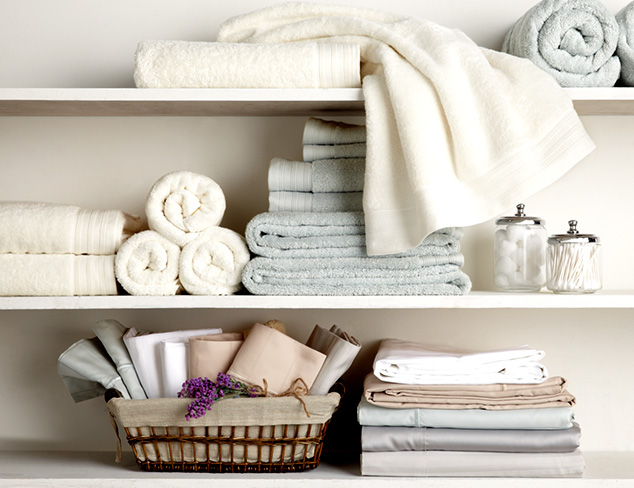Linen Closet Refresh: Sheets, Duvets & More at MYHABIT