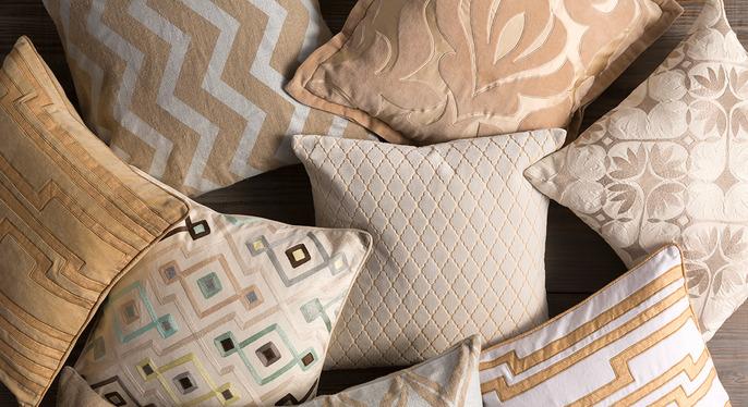 Neutral Pillows at Gilt