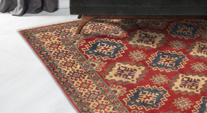 One-of-a-Kind, Hand-Knotted Tribal Rugs at Gilt
