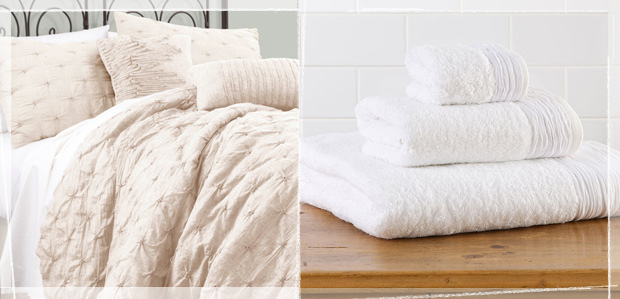 Relaxed Linens for Airy, Open Spaces at Rue La La