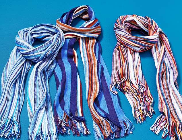 Rossovivo Scarves at MYHABIT