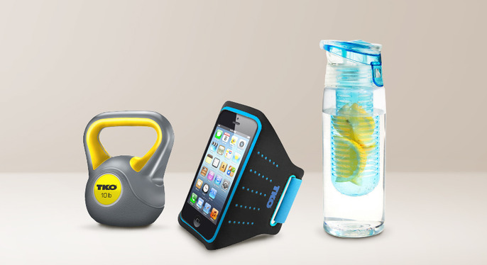 Stay in Shape: Fitness Accessories at Gilt