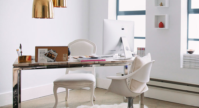 Stylish Office Accents at Gilt