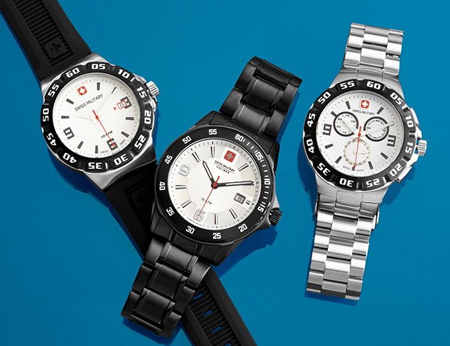 Swiss Military Watches at MYHABIT