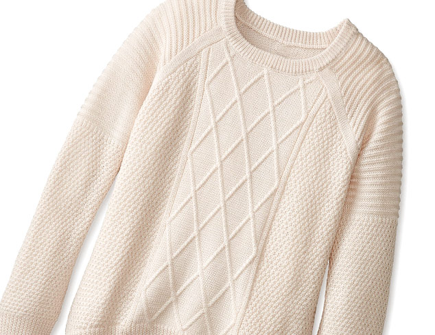 The Cable Knit Sweater at MYHABIT