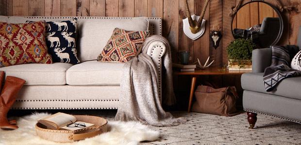 The Modern Lodge: Natural Furniture & Rustic Decor at Rue La La