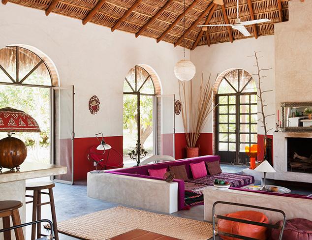 The Modern Tropical Cabana at MYHABIT