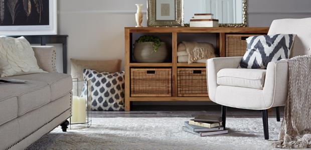 The Neutral-Hued Home: Shop Living Room at Rue La La