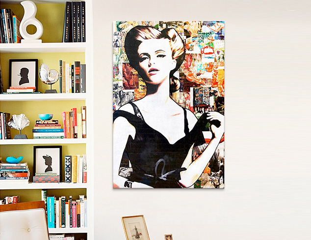 The Stylish Wall: Glamorous Art at MYHABIT