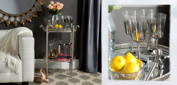 Throw a Cocktail Party: Glam Glassware & More at Rue La La