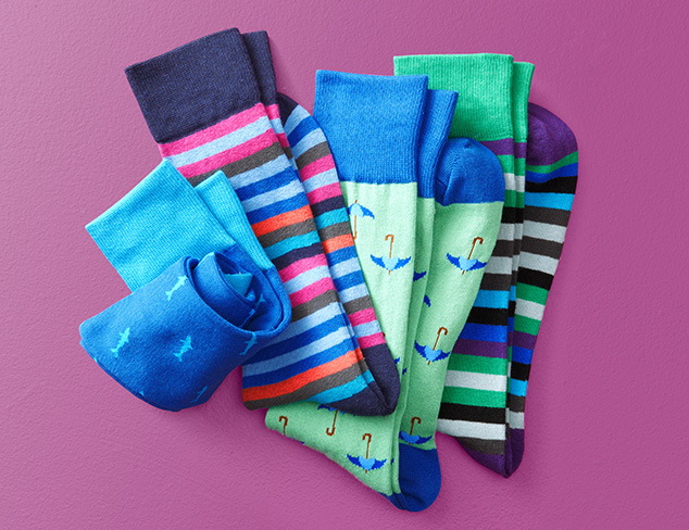 Unsimply Stitched Socks at MYHABIT