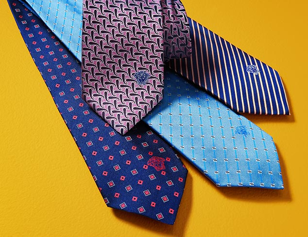 Versace Ties at MYHABIT