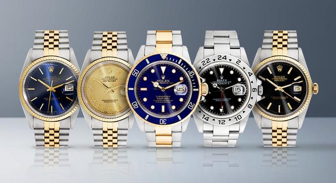 Vintage Rolex Watches at Gilt