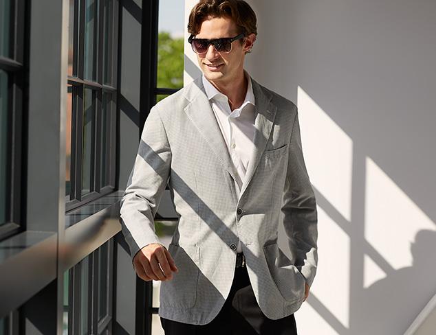 Wardrobe Classics: Blazers, Button-Ups & More at MYHABIT