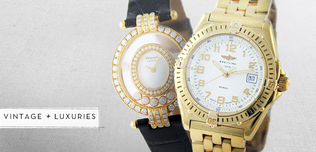 Watch VIPs: Gold Timepieces Featuring Chopard at Rue La La