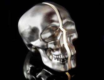 Vion Design Yorick Split Skull Lamps
