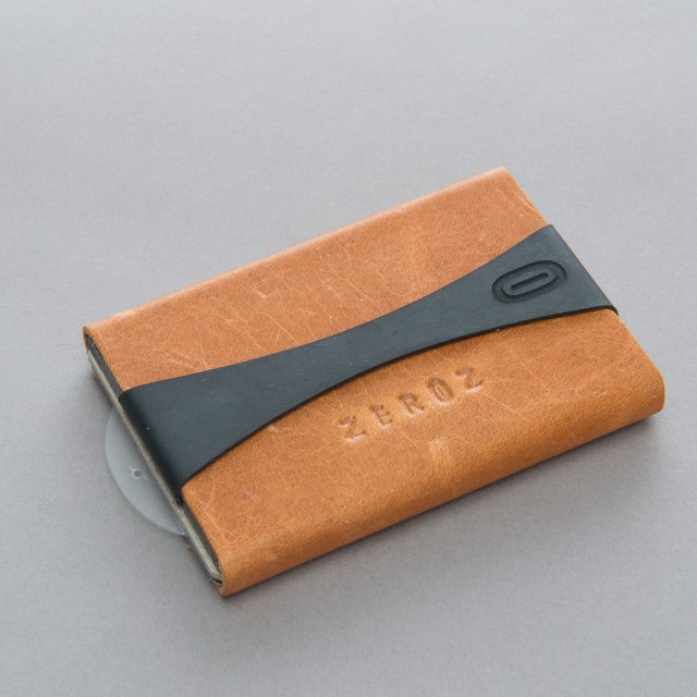 zerOz Minimalist Leather Wallet  // Metro