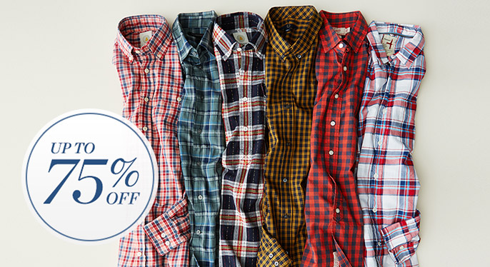 Button-Ups: Up to 75% Off at Gilt