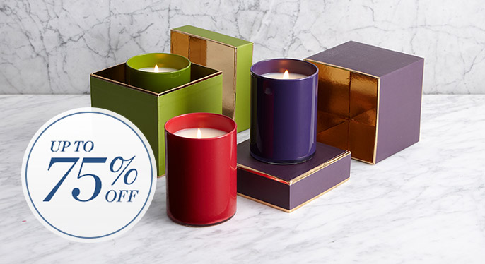 Candles & Diffusers: Up to 75% Off at Gilt