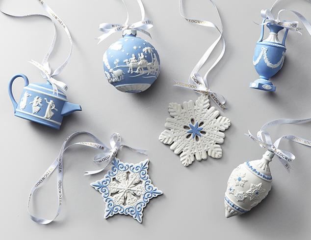 Christmas Ornaments feat. Wedgwood at MYHABIT