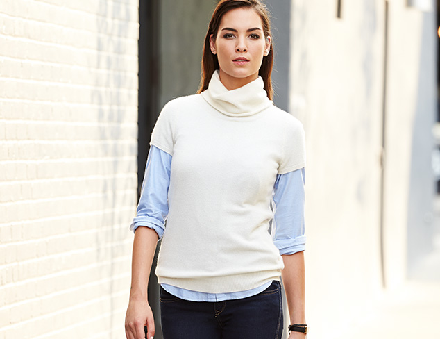 Cozy-Chic Weekend Knits at MYHABIT