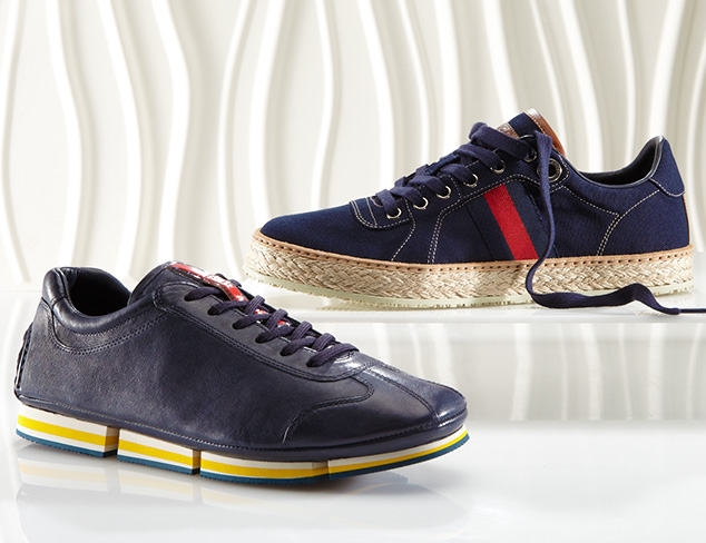 Designer Sneakers feat. Prada at MYHABIT