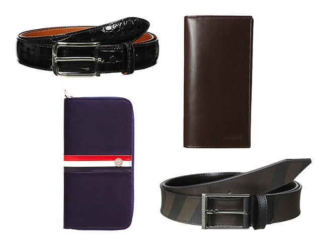 Distinguished Details: Wallets, Belts & More at MYHABIT
