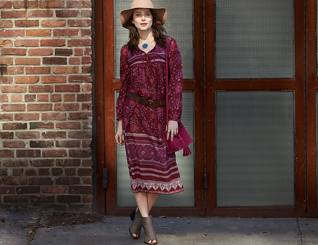 Free-Spirited Style: Tops, Dresses & More at MYHABIT