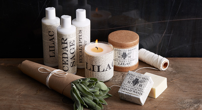 Fresh Scents for Fall at Gilt