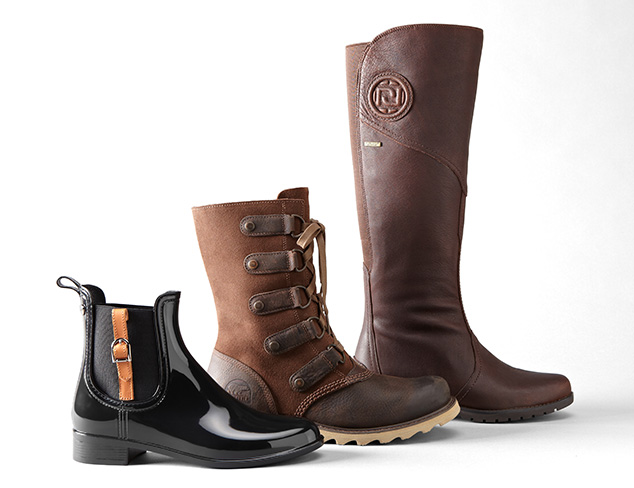 Keep Dry: Waterproof Shoes & Boots at MYHABIT