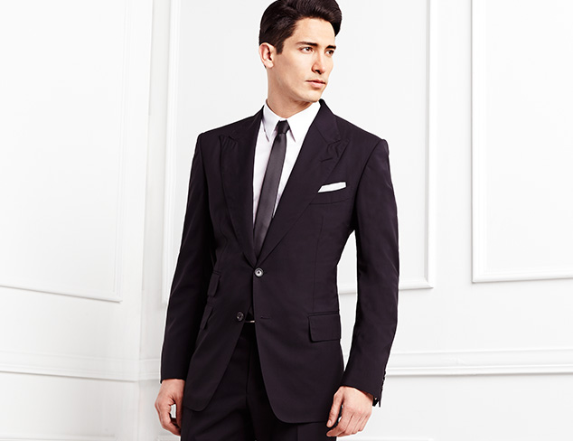Luxury Suiting feat. Tom Ford at MYHABIT