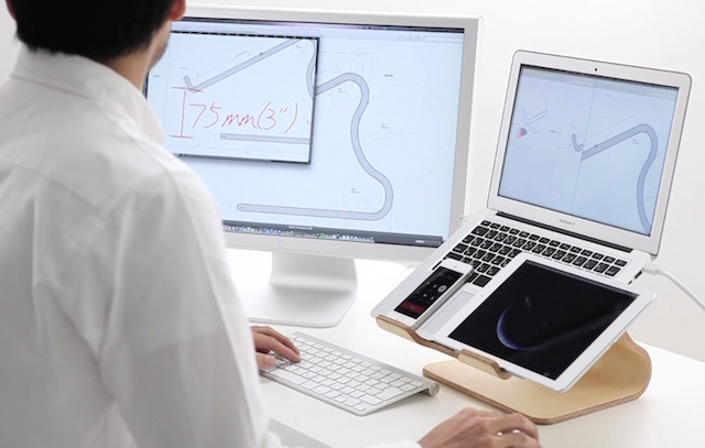 MOKU Woodware Desktop Stool Laptop Stand_2