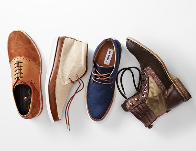 Mixed Materials: Shoes & Boots at MYHABIT